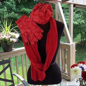 🎈🎈 scarf  hat gloves set